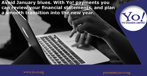 Review your financial statements, with Yo! Payments.